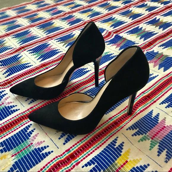 a0fe72bd9c82 Jessica Simpson Shoes - Jessica Simpson Black Suede Pheona Pump